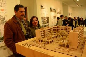 EXPOSICION ALUMNOS ARQUITECTURA ( SALA DEL ACERO