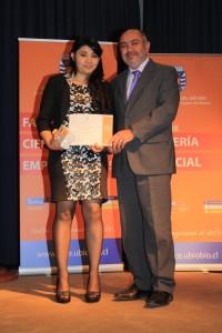 Alumna Perseverante Marcela Ester Parra Domínguez