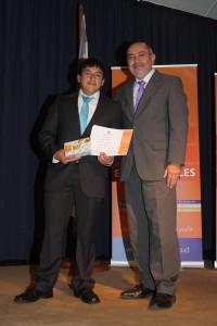 Alumno Perseverante Luis Ortega