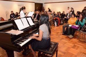 Flauta y piano
