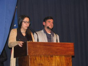 Daniela Guzmán y Mauricio Mercado