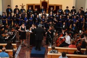 Orq. Coro y solistas
