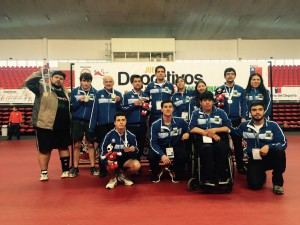 Selección paralímpica Ministerio del Deporte región Bío Bío