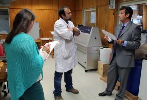 Visita concurso MTD laboratorio Maderas