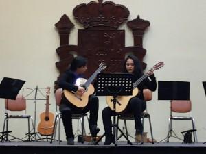 duo mixto de guitarras
