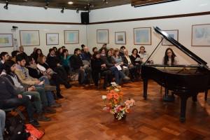 pianista y gran público MB