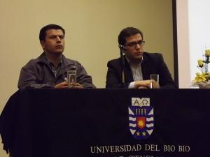 Eduardo Seguel, de Sercotec y Fernando Valencia, de Gendarmería de Chile.