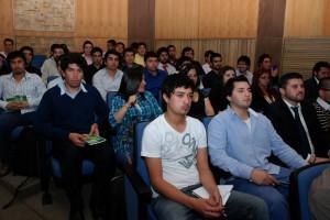 El seminario está dirigido a los estudiantes, quienes agradecieron la posibilidad de interactuar con los empresarios.
