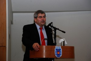 El director de Investigación, Desarrollo e Innovación de la UBB, Mario Ramos.