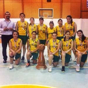 Rama Básquetbol Femenino UBB