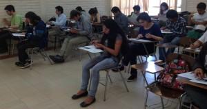 Cerca de 40 alumnos rindieron el examen TOEIC.